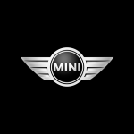 mini cooper logo black